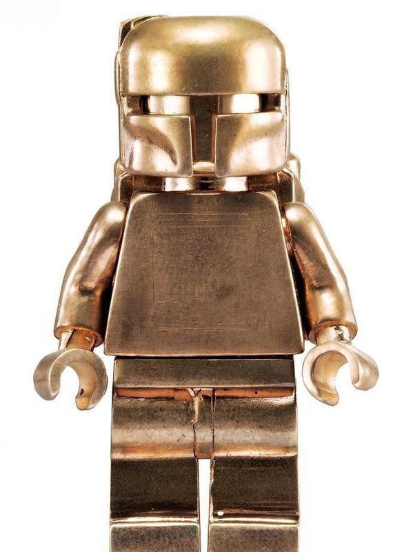 Boba Fett Lego Minifigure – Solid Bronze Promotional Giveaway (2010)