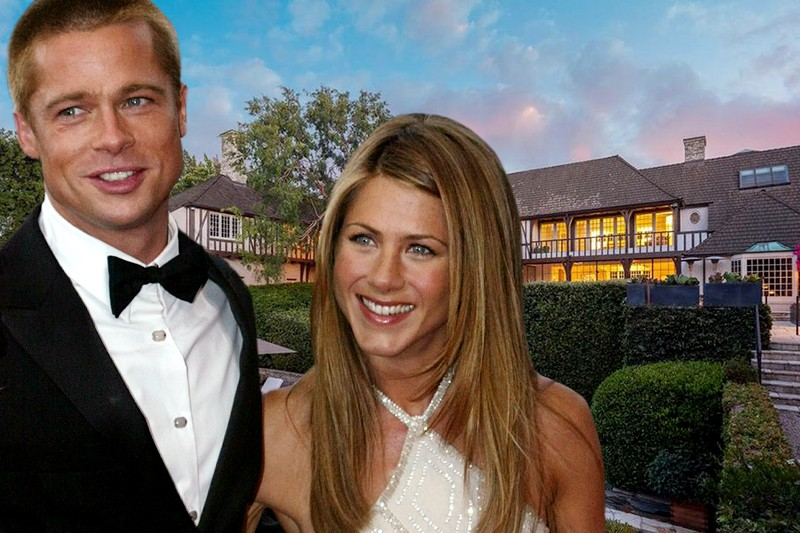 Brad Pitt and Jennifer Aniston's Former Home Is for Sale and It's Ridiculously Expensive