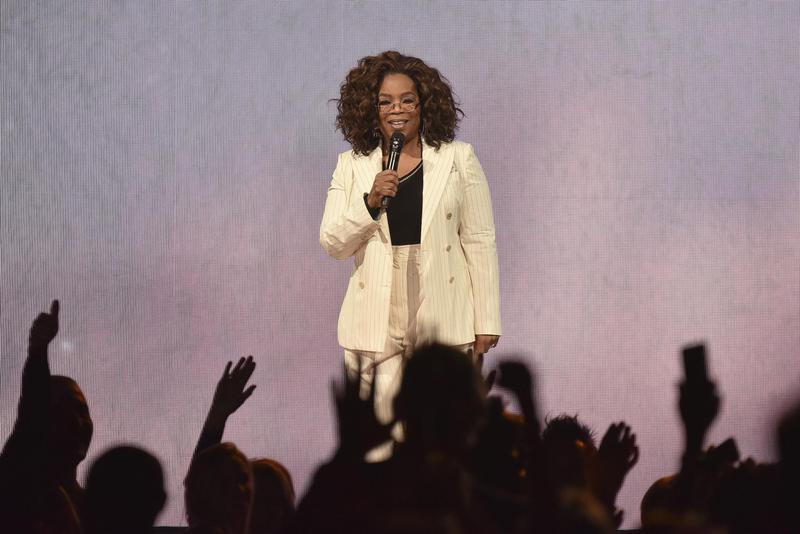 """Oprah Winfrey makes remarks during """"Oprah's 2020 Vision"""" tour"""