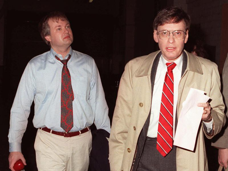 Donald Fehr and Bud Selig