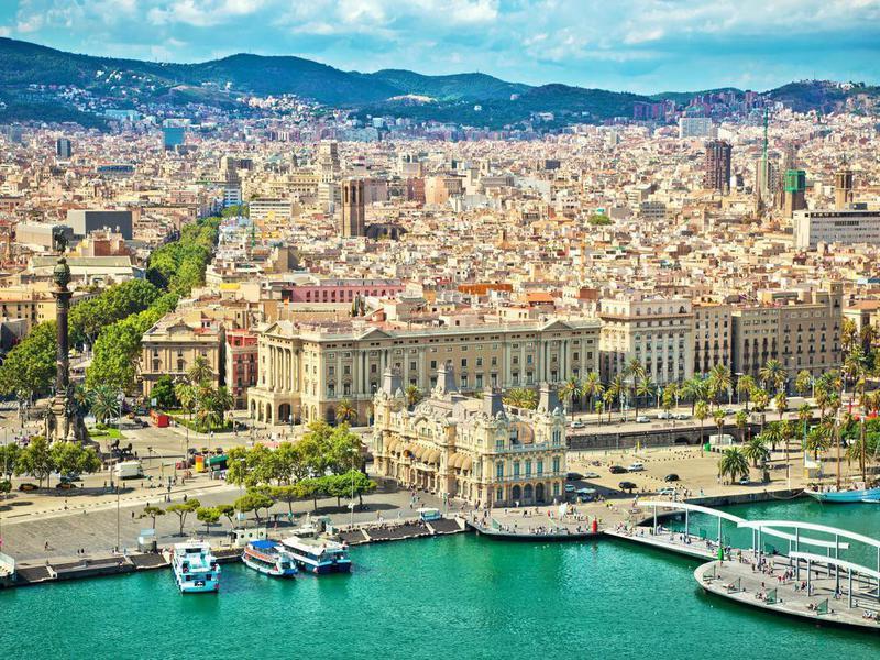 Barcelona port, Spain