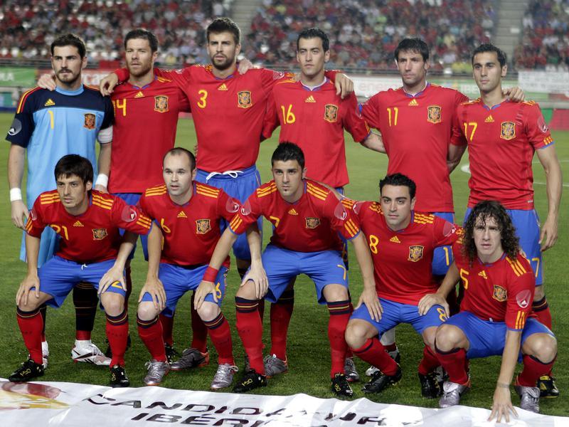 2010 Spanish soccer team