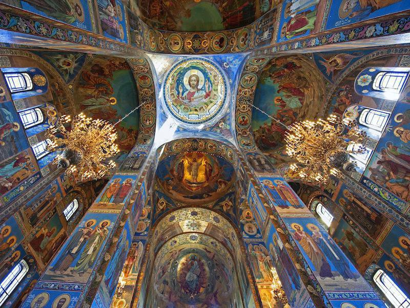 The Church of Our Savior on the Spilled Blood interior