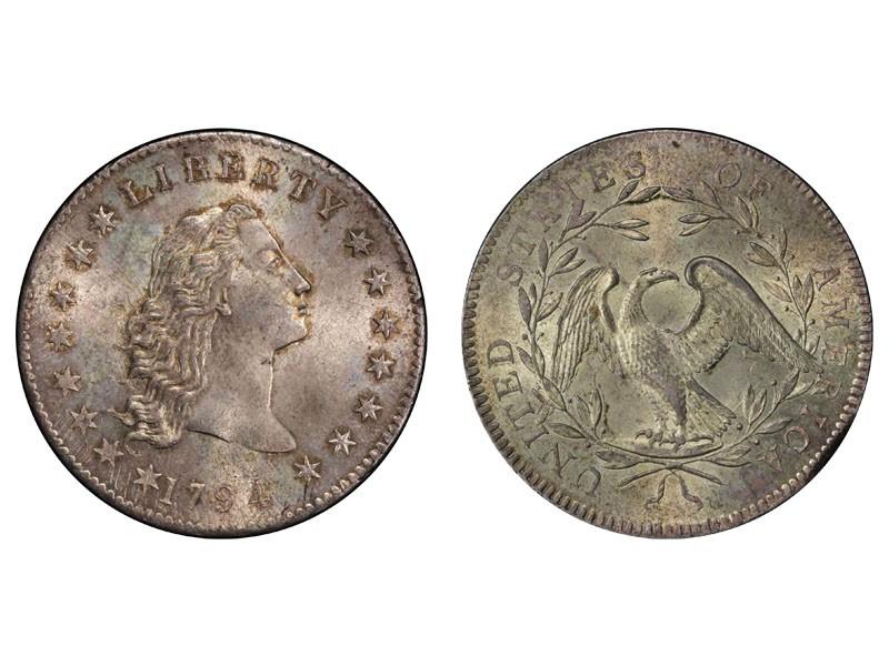 1794 Flowing Hair Silver Dollar
