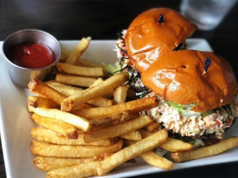 List of Burger Topping Ideas: Sushi