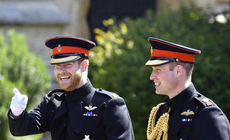 Best man, Prince William