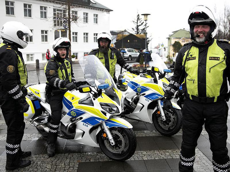 Policing in Iceland