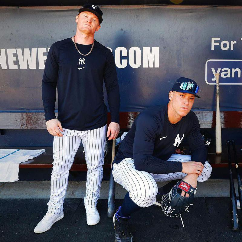 Aaron Judge and Clint Frazier
