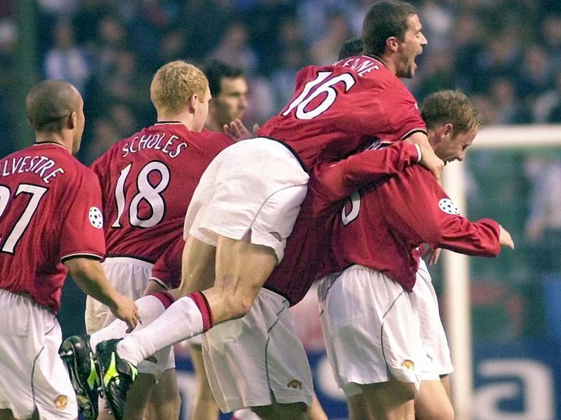 Roy Keane and David Beckham