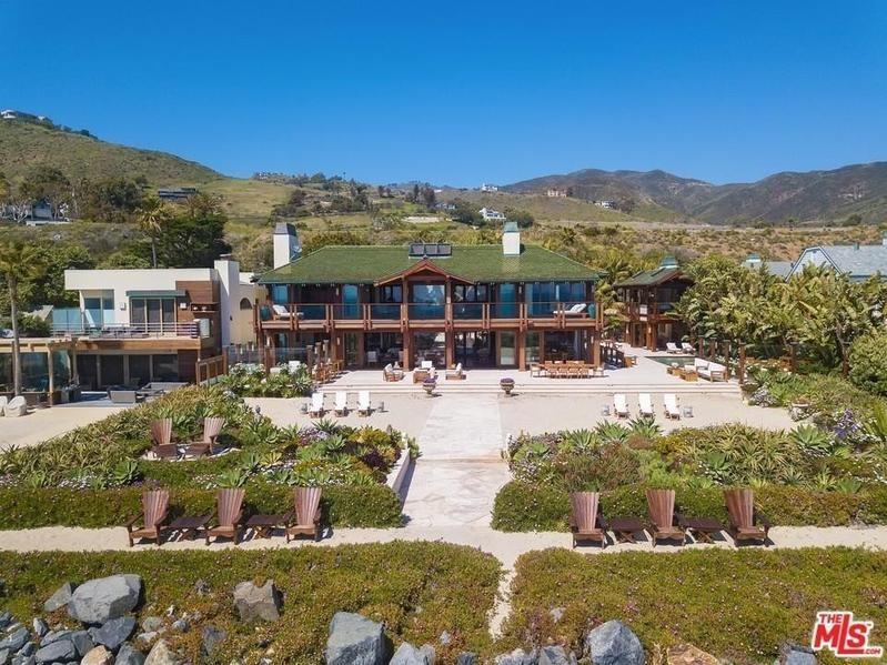 Pierce Brosnan's house in Malibu