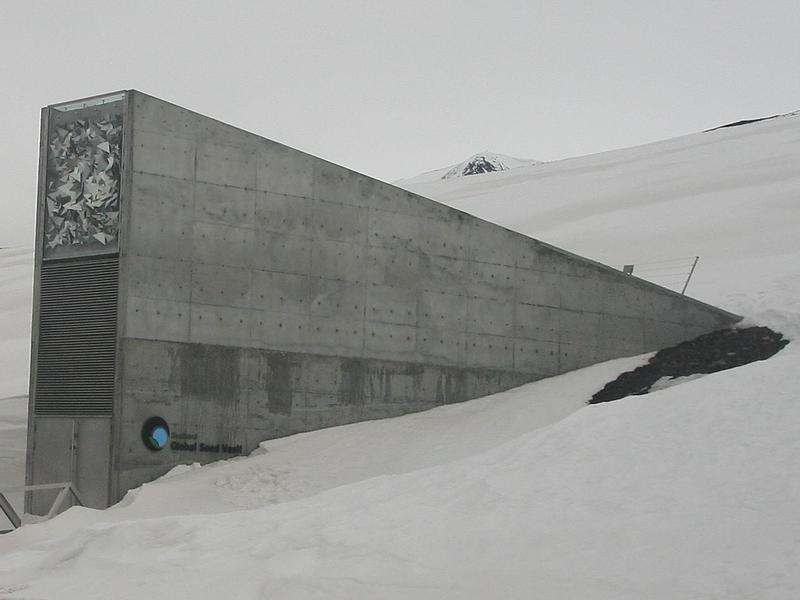 Svalbard Global Seed Vault, Norway