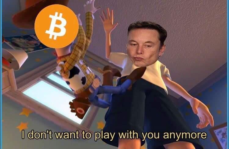 No more bitcoin for you