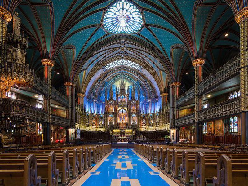 Notre-Dame Basilica interior