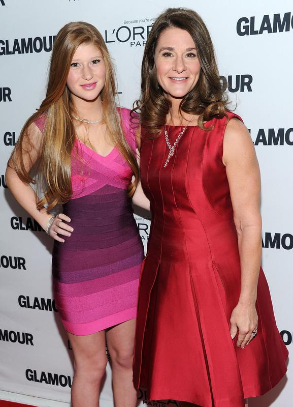 Phoebe Adele Gates and Melinda Gates
