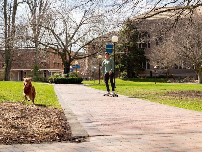 Student in Western Washington University