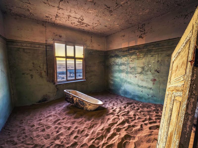 Haunted Kolmanscop, Namibia