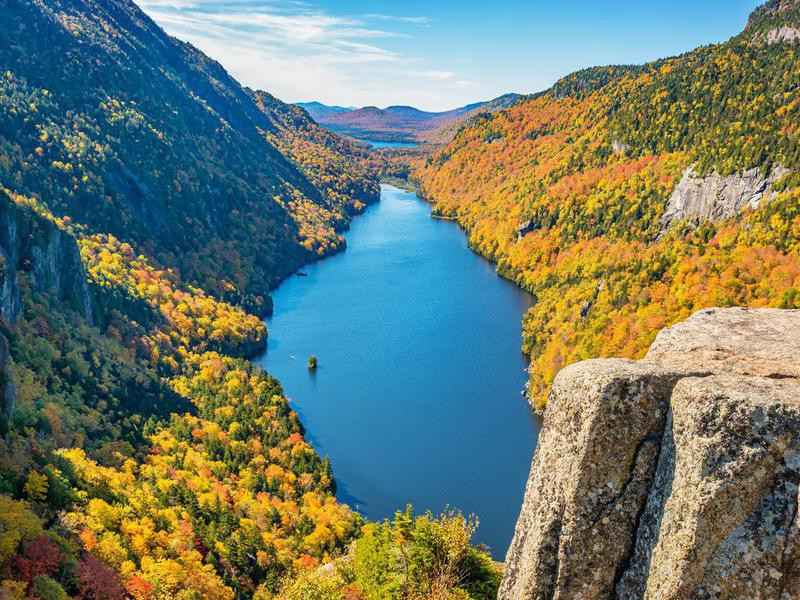 Fall in Adirondack State Park, New York