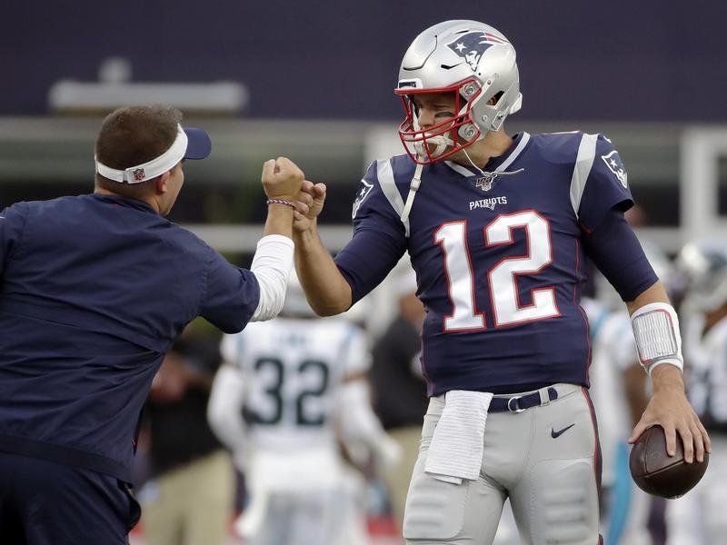 Josh McDaniels and Tom Brady