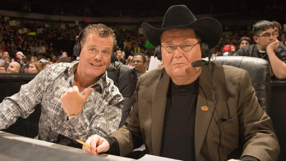 Jim Ross and Jerry Lawler