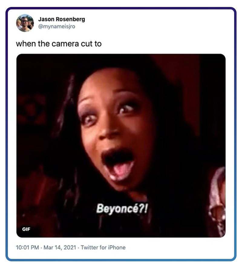 Twitter Beyoncé love
