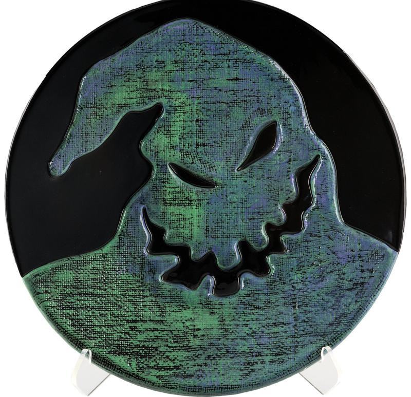 Nightmare Before Christmas Oogie Boogie Charger Bowl