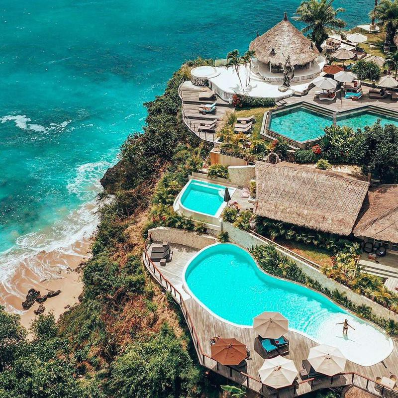 Pool Hopping in Bali