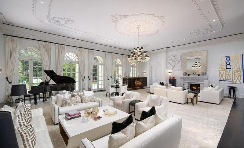 The Manor's living room