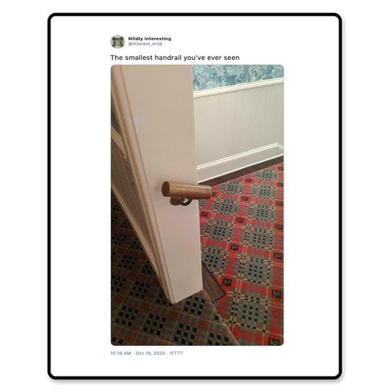 Small handrail