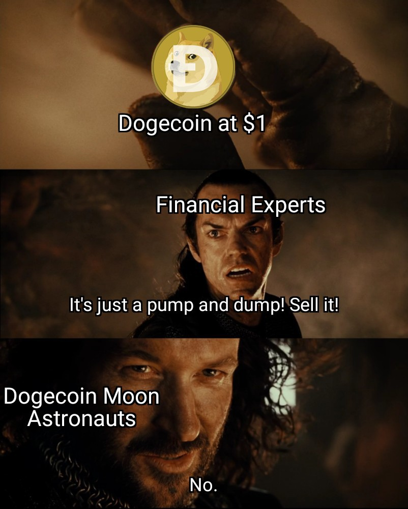 To the moon meme