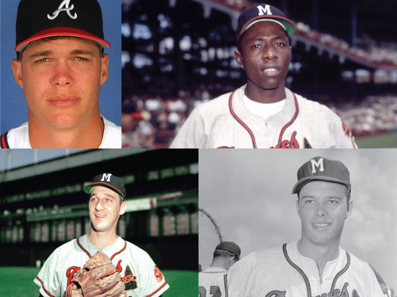 Boston/Milwaukee/Atlanta Braves Mount Rushmore