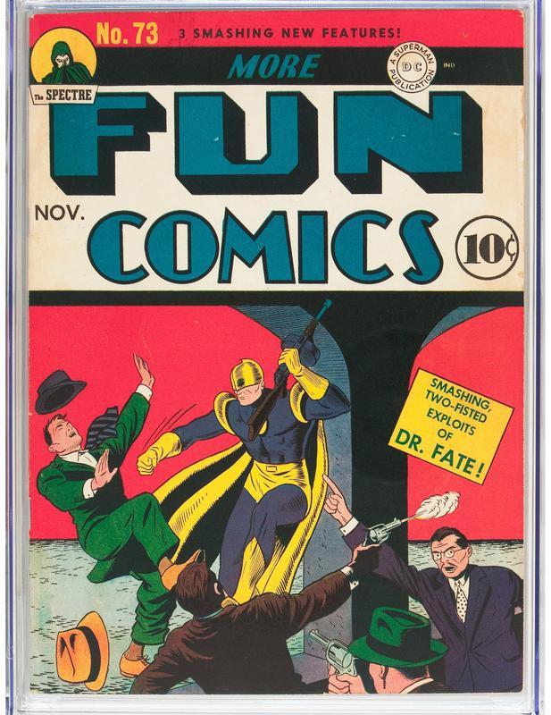More Fun Comics No.73