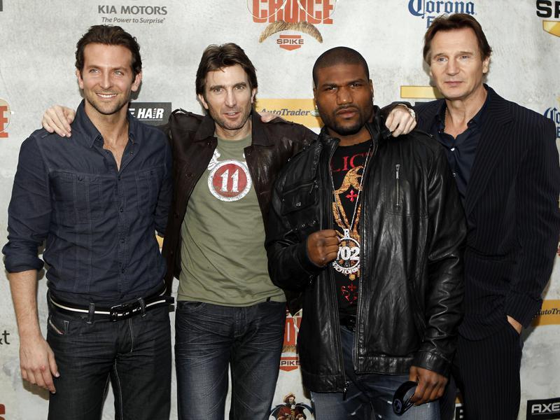 "Bradley Cooper, Sharlto Copley, Quinton ""Rampage"" Jackson and Liam Neeson"