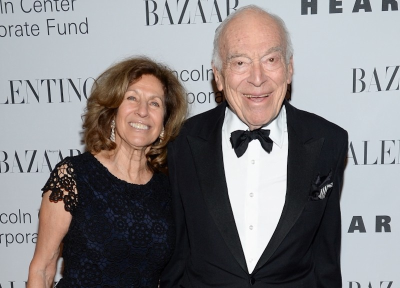 Leonard Lauder and Judy Glickman