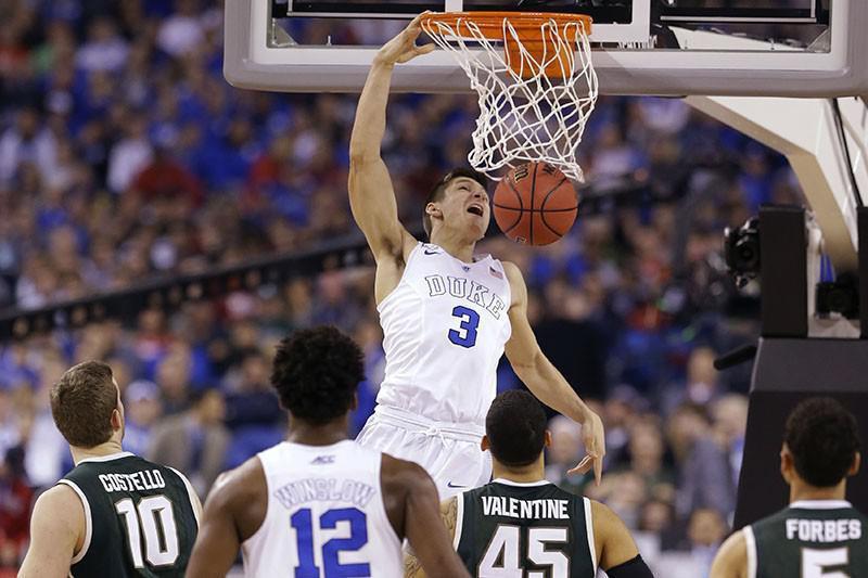 Grayson Allen and 2014-15 Duke Blue Devils