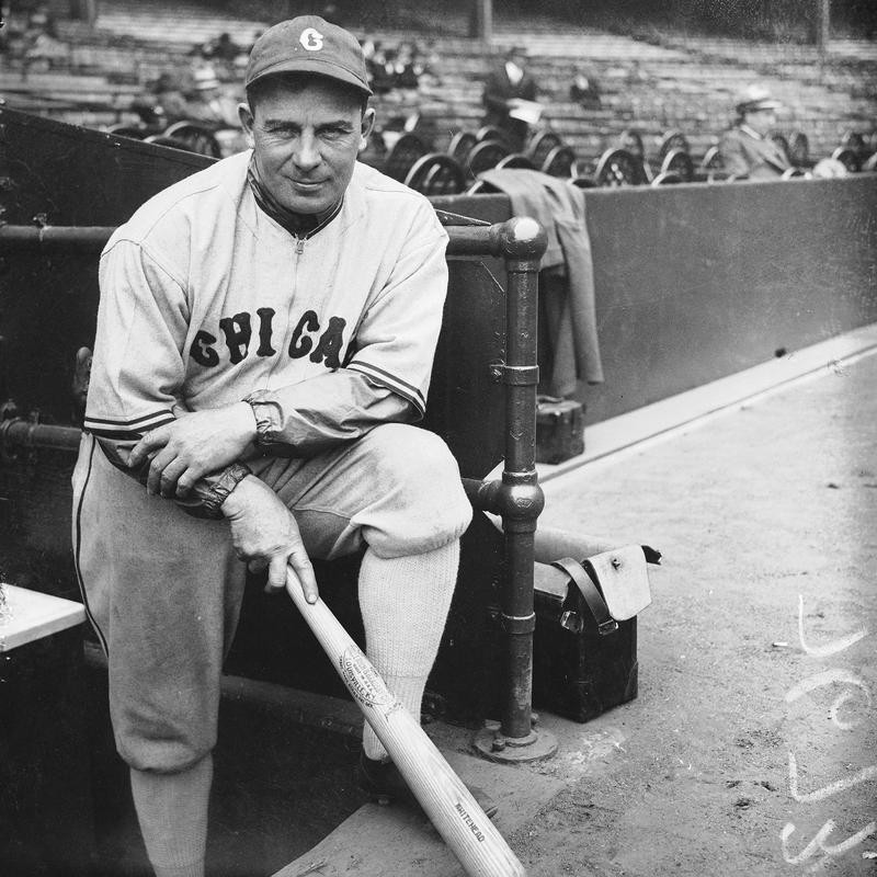 Chicago White Sox manager Jimmy Dykes poses