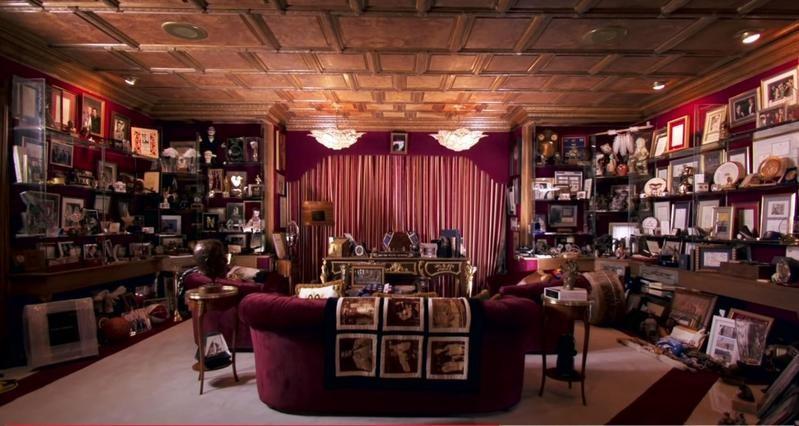 Wayne Newton's memorabilia room
