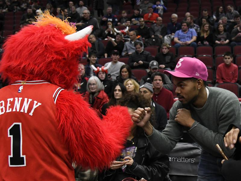 Chance the Rapper Benny the Bull