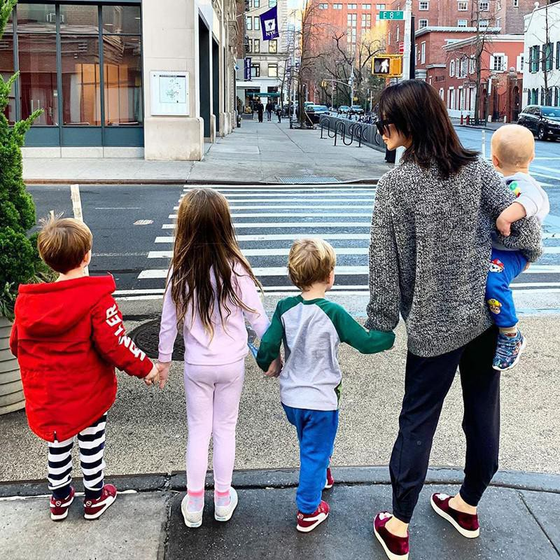 Hilaria Baldwin and Her Sons