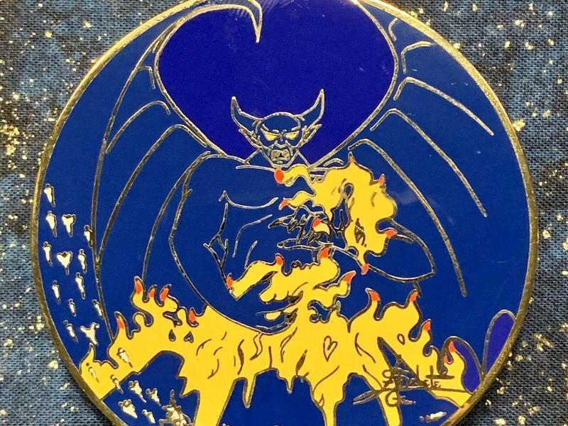 Fantasia's Chernabog Disney Pin