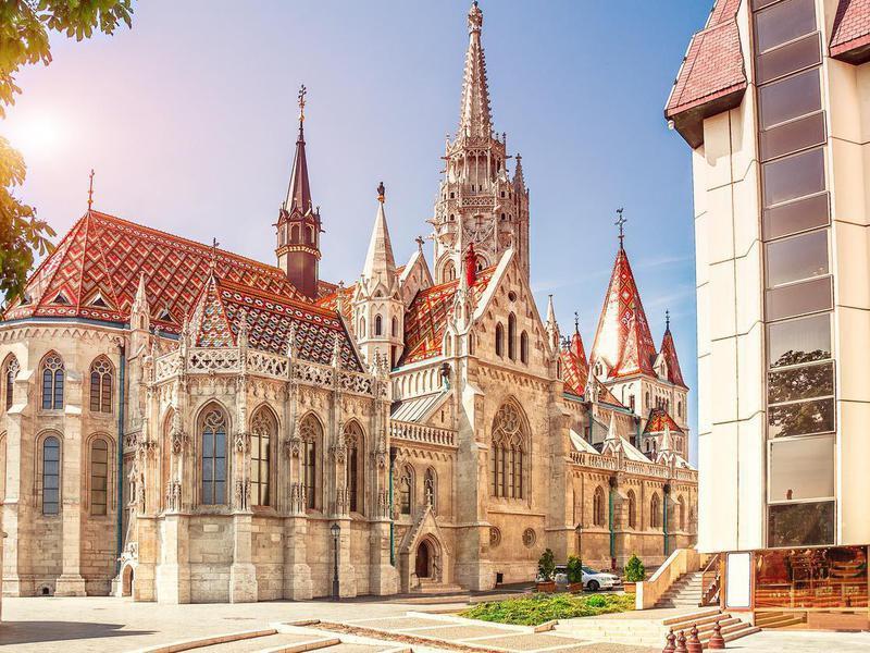 St. Matthias Church in Budapest.