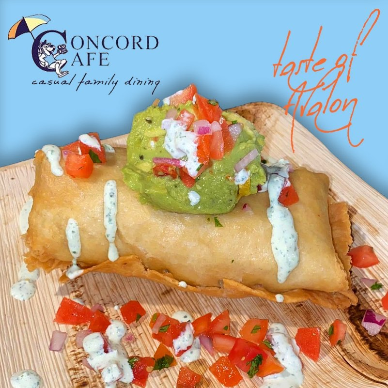 Concord Cafe breakfast burrito