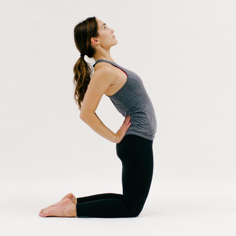 Camel Pose - 10 Minutes of Yoga to Jumpstart Your Work Day