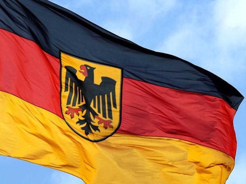 German Bundesadler flag