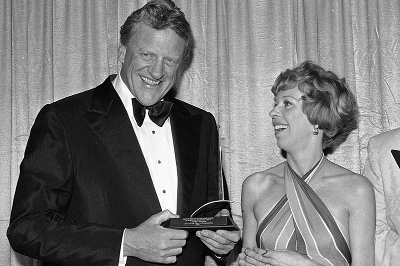 Carol Burnett and James Arness