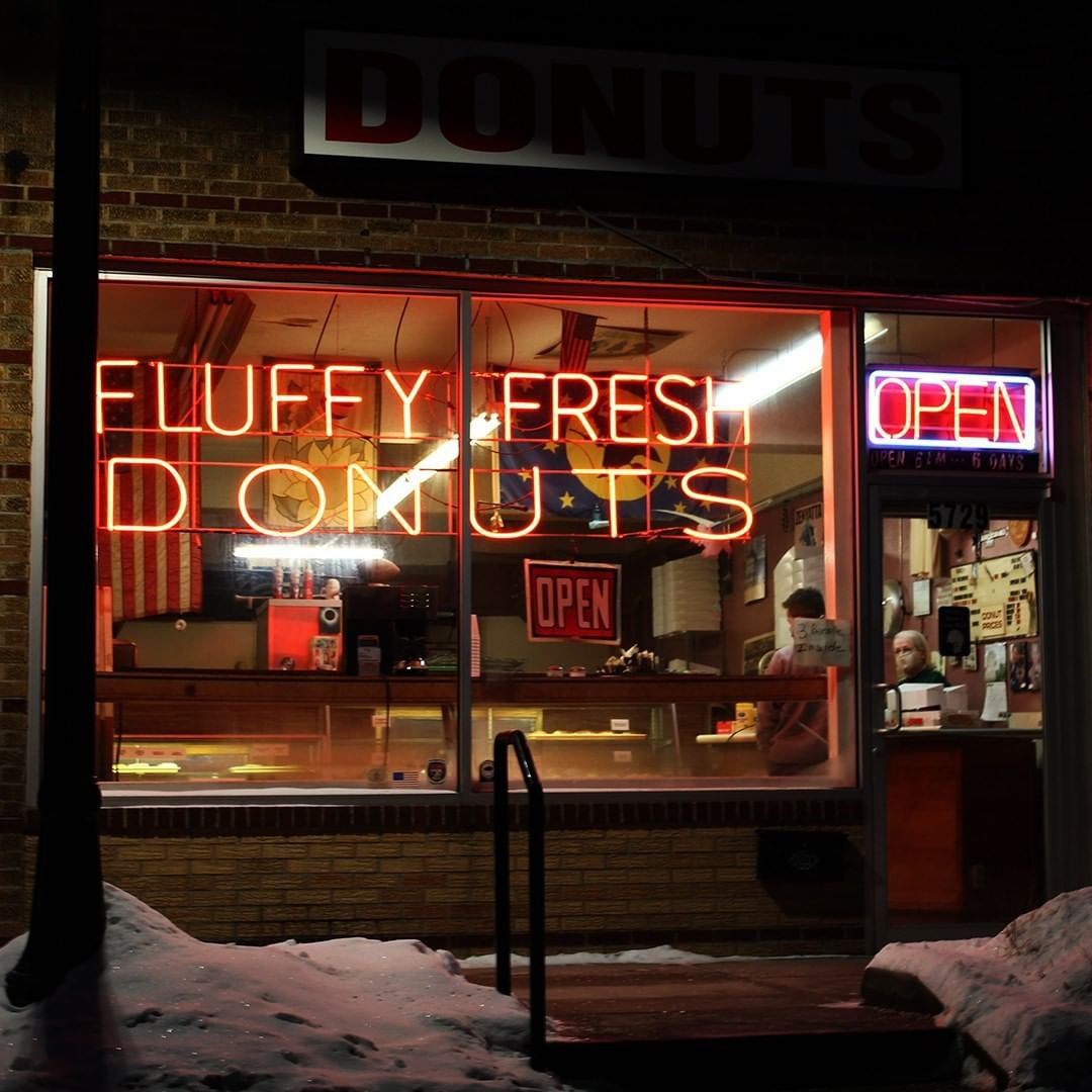 Fluffy Fresh Donuts