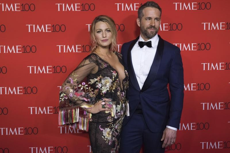 Blake Lively and Ryan Reynolds style at the Time 100 Gala