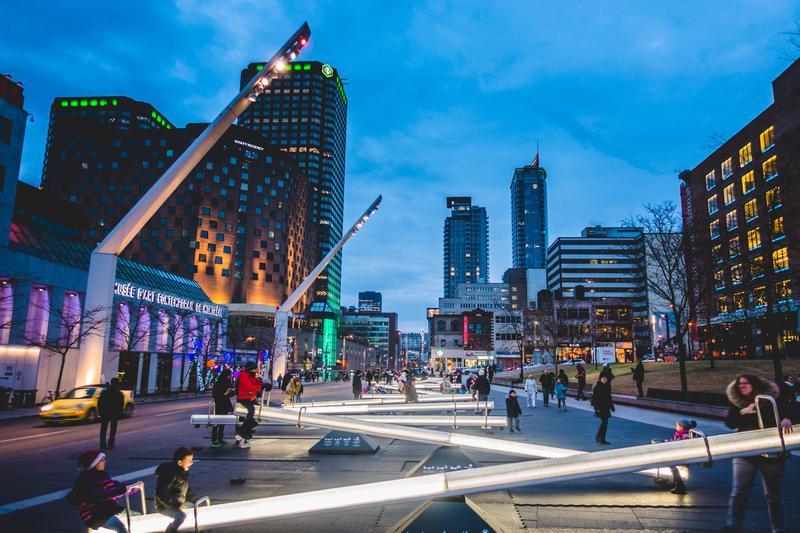 Place Des Arts Square