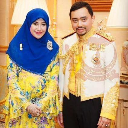 Prince Abdul Malik and Dayangku Raabi'atul