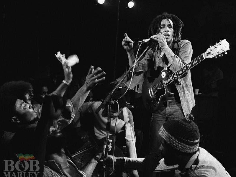Bob Marley at the Lyceum Theatre