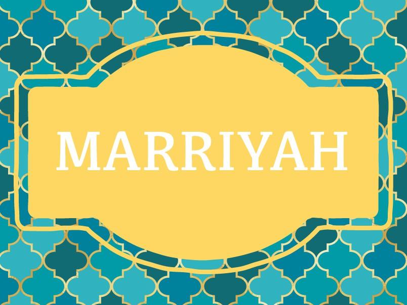 Marriyah